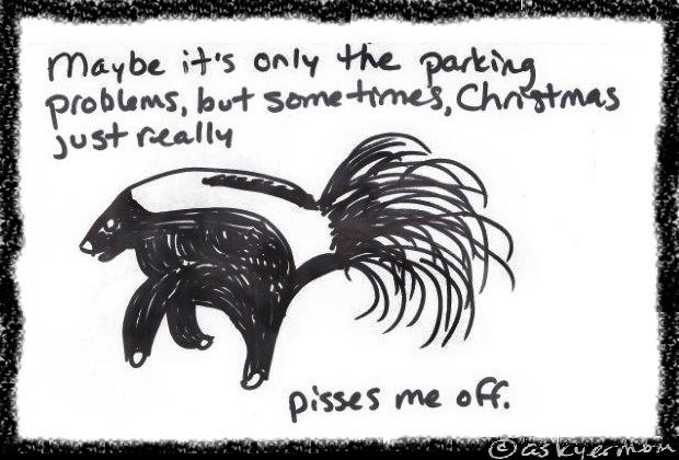 skunk christmas